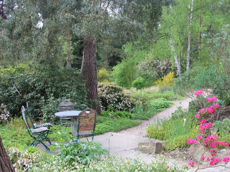 Rund um den Botanischen Garten